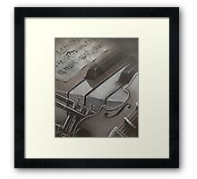 You can play  Framed Print