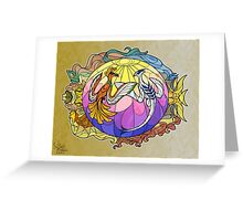 Gold & Silver Greeting Card