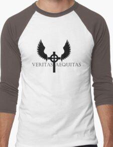 Veritas Aequitas Men's Baseball ¾ T-Shirt