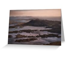 Hebridean Early Morning Welcome Greeting Card