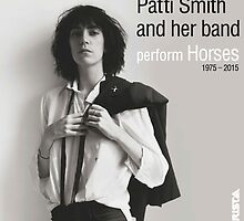 Patti Smith & her band by welovevintage
