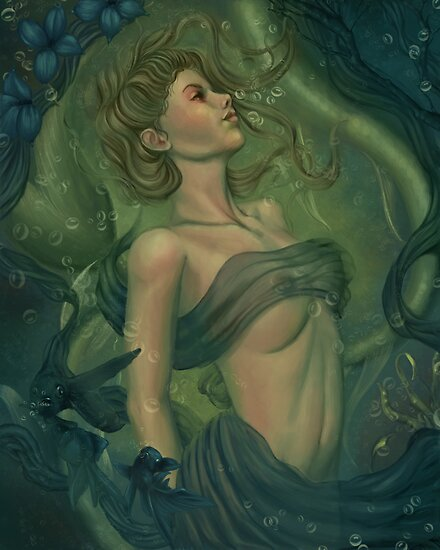 Birth of a Siren by tiffanysrealm