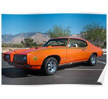 "1969 Pontiac GTO ""The Judge"" Poster"