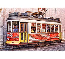 Electric Trolly of Lisbon Photographic Print