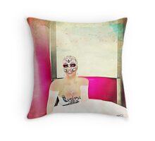 Arcadian Lady Portrait Throw Pillow