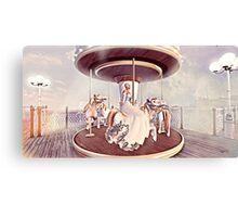Arcadian Lady-  Carousel Canvas Print