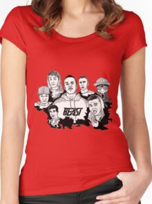 Sidemen - All The Boys Women's Fitted Scoop T-Shirt