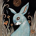 Bunny Blue by Anita Inverarity