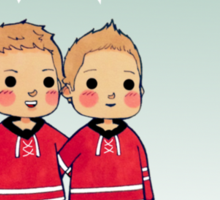 Jordan, Eric, Jared, and The Other Staal Sticker