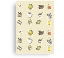 Brilliant Breakfast Canvas Print
