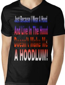 Hoodlum Mens V-Neck T-Shirt