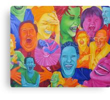 Laughing Out Loud Canvas Print