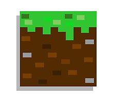 Little Block - Minecraft Sticker by SargeMac