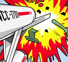 Lichtenstein Star Trek - Whaam! Sticker