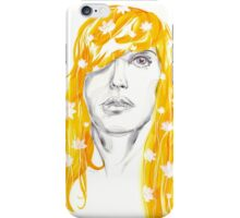 Golden Lily iPhone Case/Skin
