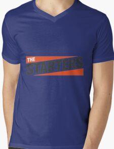 The Starters Logo Mens V-Neck T-Shirt