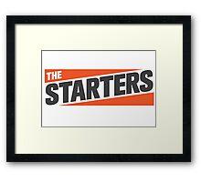 The Starters Logo Framed Print