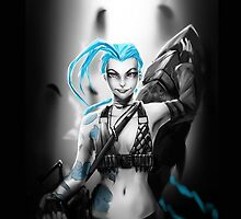 Jinx - League of Legends - LoL by sakha