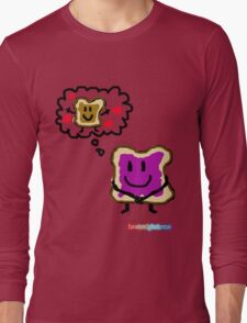 Jelly Thinking About PB Long Sleeve T-Shirt