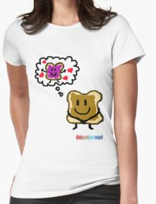 PB Thinking About J Womens Fitted T-Shirt