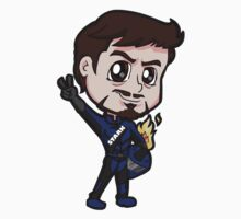 IM2 - Tony Stark in Racing Suit Chibi by Zphal