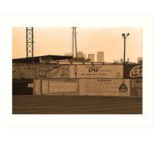 Old Time Baseball Field Art Print