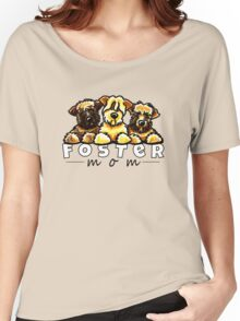 Foster Dog Mom Women's Relaxed Fit T-Shirt