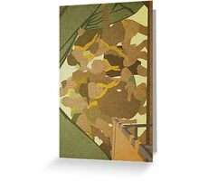 Jiminy cricket he flew the coop. Greeting Card