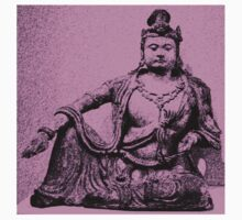 """Avalokiteshvara Bodhisattva  2 - Tshirt 1"" by Kevin J Cooper"