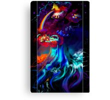 Yggdrasil, the World Tree Canvas Print