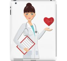 I cure patients iPad Case/Skin