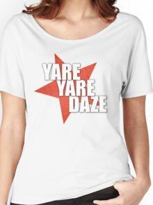 JJBA - Yare Yare Daze Women's Relaxed Fit T-Shirt