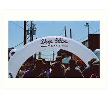Deep Ellum Arts Festival 2013 - Dallas, TX Art Print