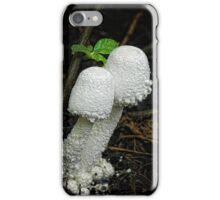 White Mushrooms iPhone Case/Skin