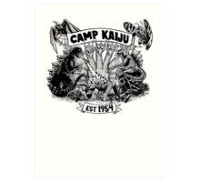 Camp Kaiju Art Print