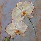 Phalaenopsis Orchid by Margaret Stockdale