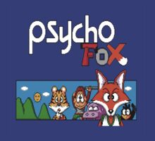 Psycho Fox Shirt by beechris