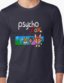 Psycho Fox Shirt Long Sleeve T-Shirt