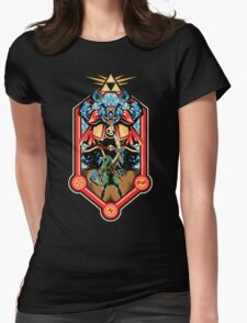 Epic Triforce of the Gods Womens Fitted T-Shirt