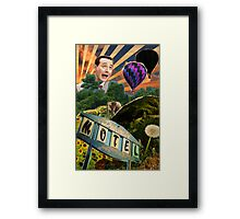 adventure. Framed Print