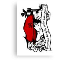 Player 1 - Big Brother the Goomba-slayer Canvas Print