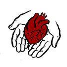 Heart in Hands by Tatiana  Gill