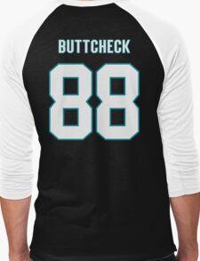 Buttcheck Burns Men's Baseball ¾ T-Shirt