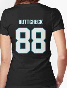Buttcheck Burns Womens Fitted T-Shirt