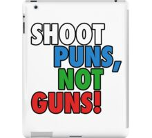 Pun Gun Fun iPad Case/Skin