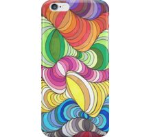 Colorful Waves iPhone Case/Skin