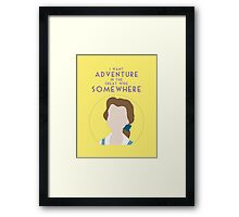 The Great Somewhere Framed Print