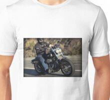Harley Davidson Motorcycle Rider Unisex T-Shirt