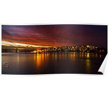 Twilight Phenomenon in Parramatta - Parramatta River Poster