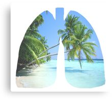 Paradise Lungs Canvas Print